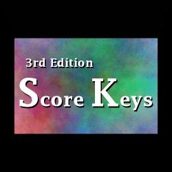 Math Score Keys