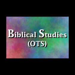 Biblical Studies (OTS)