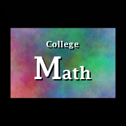 College Math