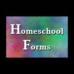 Homeschool Forms