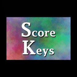 Word Building Score Keys