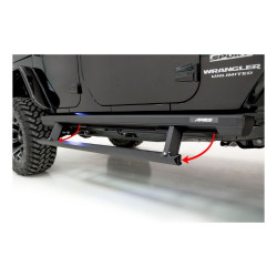 Jeep ActionTrac Running Boards