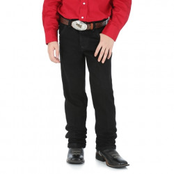Wrangler Toddler to Size 7 Cowboy Cut® Original Fit Boy's Jeans Black