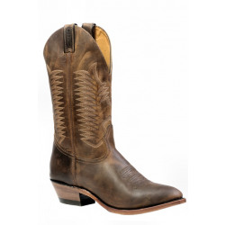 Boulet Medium Cowboy Toe Boots