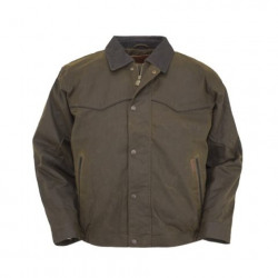 Men's Oilskin Trail Blazer Jacket Bronze