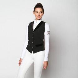 Arista Modern Dressage Vest Black