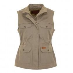 Outback Ladies Vest Kendall Khaki