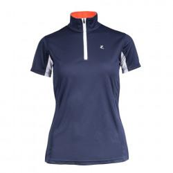 Horze Trista Short Sleeve Functional Shirt Navy