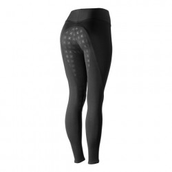 Horze Juliet Women's HyPer Flex Tights Full Seat Black