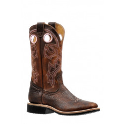 Boulet Ladies Cowboy Boots Wide Square Toe