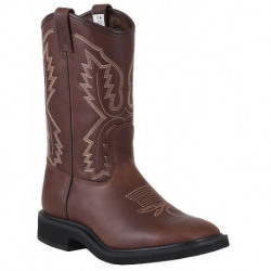 Canada West Men's Brahma Spongy Ropers Insulated Aged Bark Ruff Rider