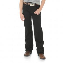 Wrangler Retro® Slim Straight Boy's Black Jeans 8-18