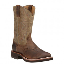 Ariat Men's Heritage Earth Brown Cowboy Boots