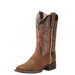 Ariat Ladies Quickdraw Badlands Wicker Western Boot