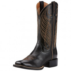 Ariat Ladies Round Up West Limousin Black
