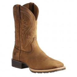 Ariat Men's Waterproof Safety To Dark Copper Western Work Boot