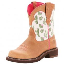 Ariat Women's Fatbaby Heritage Cactus Print Boots