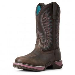 Ariat Ladies Anthem Round Toe Western Boots