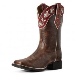 Ariat Ladies Round Up Monroe Western Boot