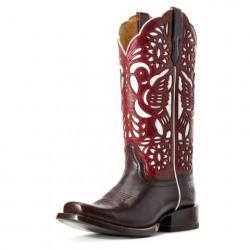 Ariat Ladies Dorinda Mahogany Western Boots