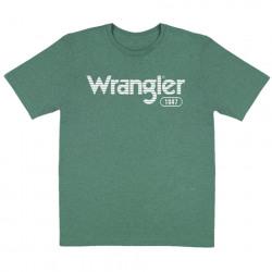 Wrangler® Logo Green T-Shirt