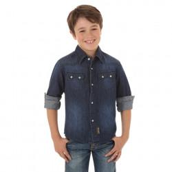 Boy's Wrangler® Retro® Long Sleeve Shirt