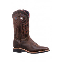 Boulet Men's Hillbilly Golden Square Toe Cowboy Boot