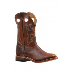 Boulet Men's Full Round Toe Cowboy Boots