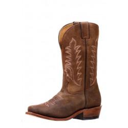 Boulet Ladies Challenger Brown Cowboy Boots
