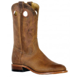 Boulet Men's Hillbilly Golden Round Toe Western Boot