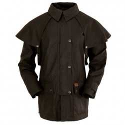 Bush Ranger Oilskin Jacket Brown