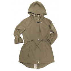 HWI Olbia Long Waterproof Sandstone Parka