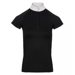 HWI Sara Competition Short Sleeves Black Shirt