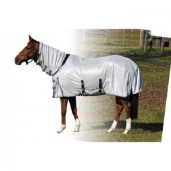 Century Deluxe Fly Sheet with Belly Guard/Full Neck White