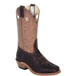 Canada West Brown Bullhide Brahma Western Boot