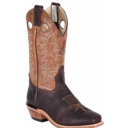 Canada West Men's Bullhide Yosemeth Brown Western Boot