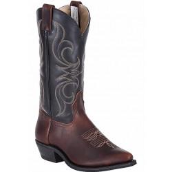Canada West Men's Volcanao Crazy Horse Bullrider Boots