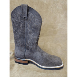 Canada West Men's Brown Roughtout Western Boots