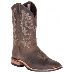Canada West Men's Crazy Horse Gaucho Western Boot