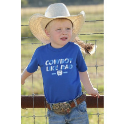Cinch Kid's Boy's Graphic Blue T-Shirt