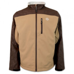 Hooey Men's Softshell Tan Brown Jacket