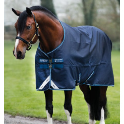 Horseware Ireland Amigo Bravo 12 Original Turnout Blanket Navy