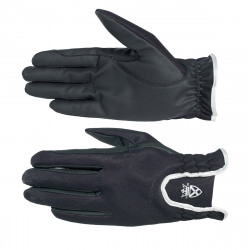 Horze Evelyn Winter Gloves Blue