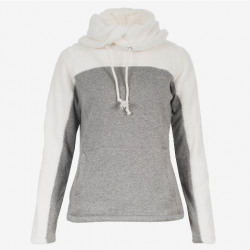 Horze Ladies Luanna Grey Fleece Hoodie