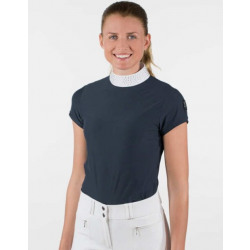 Horze Ladies Mirielle Show Shirt Dark Navy