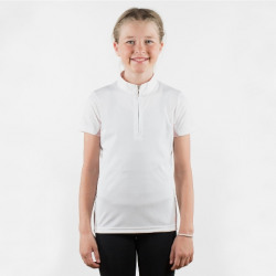 Horze Children Lena White Show Shirt
