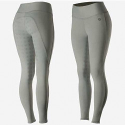 Horze Juliet Women's HyPer Flex Tights Full Seat Grey