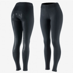 Horze Ladies Madison Silicone Full Seat Tights Black