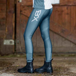 B Vertigo BVX Beatrix Silicone Full Seat Tights Blue