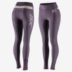 B Vertigo BVX Beatrix Silicone Full Seat Tights Purple